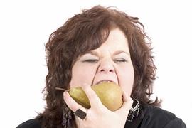 食べる量(カロリーリストリクション)のイメージ